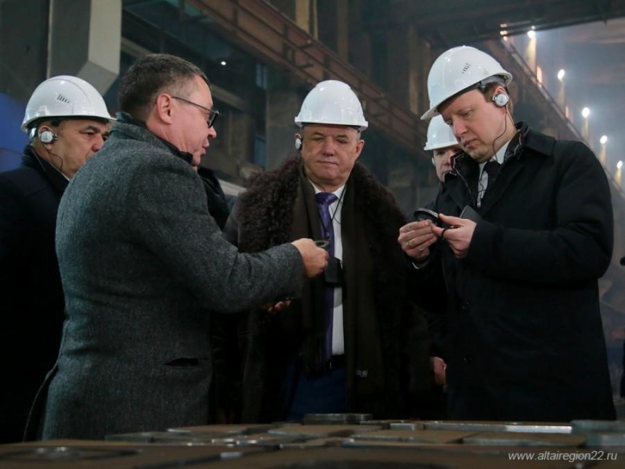 Участок термической резки металла на предприятии «Алтайвагон».