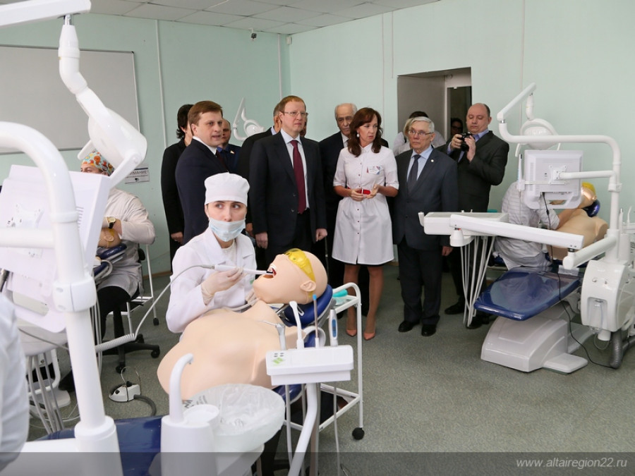 Центр симуляционного обучения врачей.