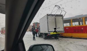 Столкновение трамвая и «Газели» в Барнауле.