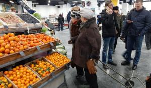 """Открытие """"Старого базара"""" в Барнауле."""