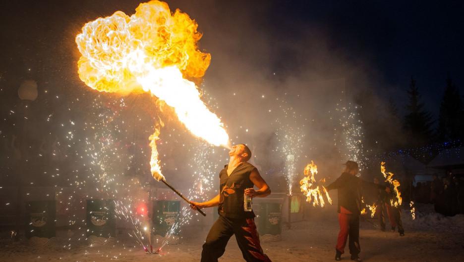 «Алтайская зимовка» на «Бирюзовой Катуни» в 2019 году.