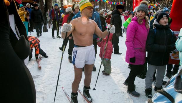 Открытие лыжного сезона на Трассе здоровья.