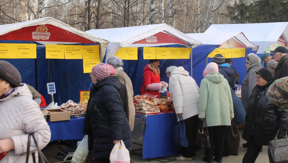 Барнаульские социальные ярмарки признаны лучшими в России.