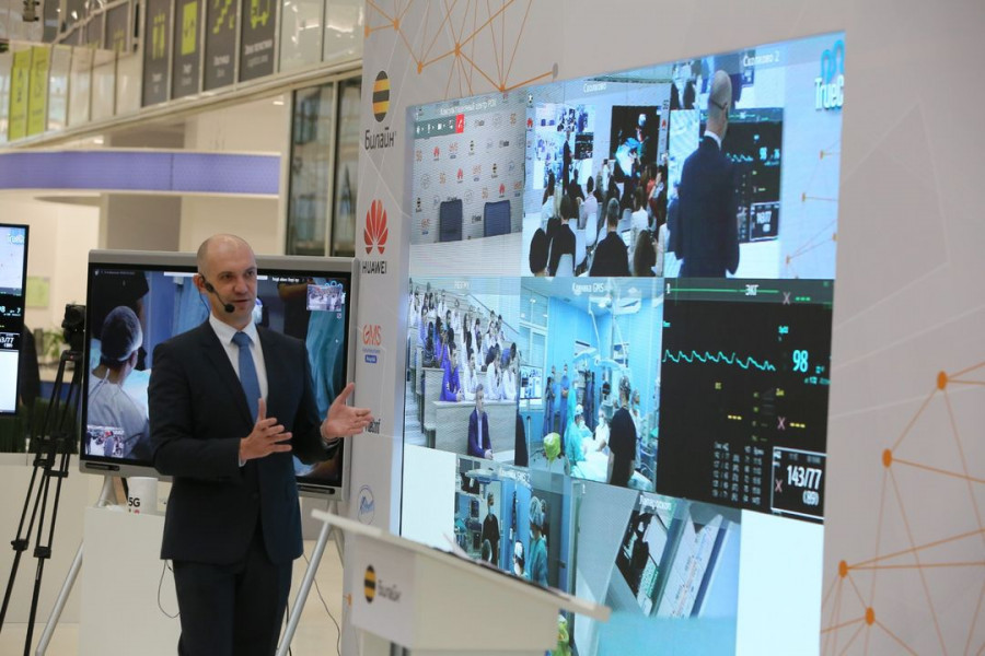 Удаленный медицинский консилиум с использованием сети 5G Билайн