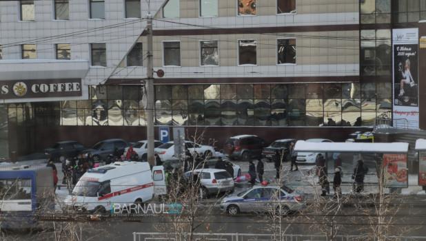 ДТП 3 декабря в Барнауле
