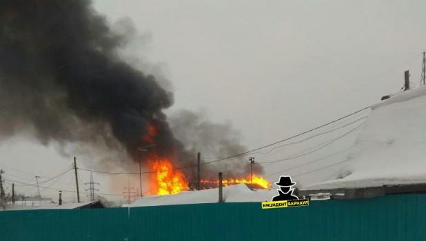 Пожар на Восточном.