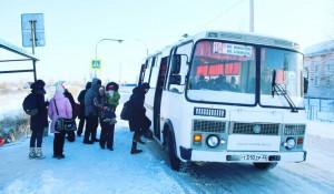 Автобус в Бельмесево.