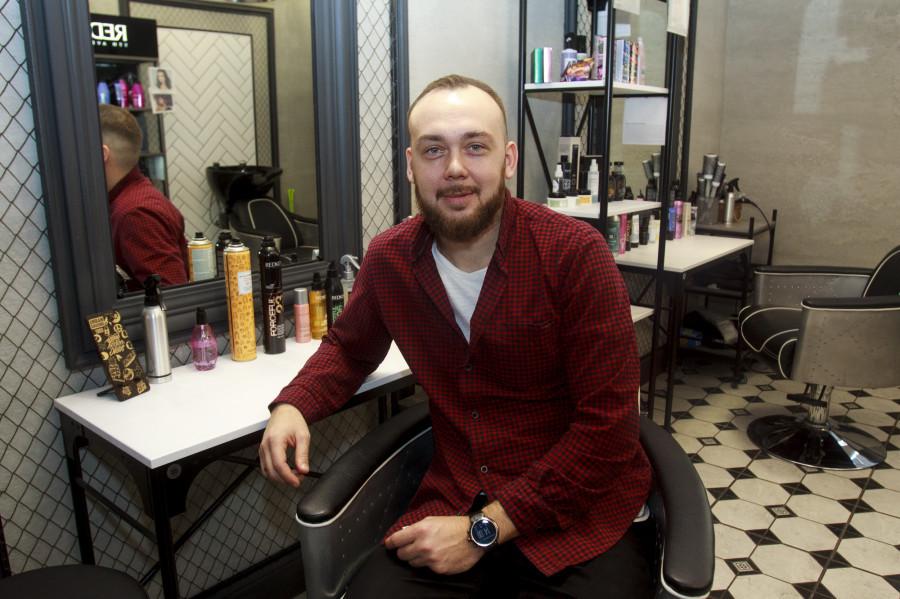 Дмитрий Лабеко, совладелец салона красоты Barbieshop в Барнауле.