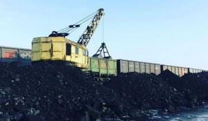 Уголь в Яровом.
