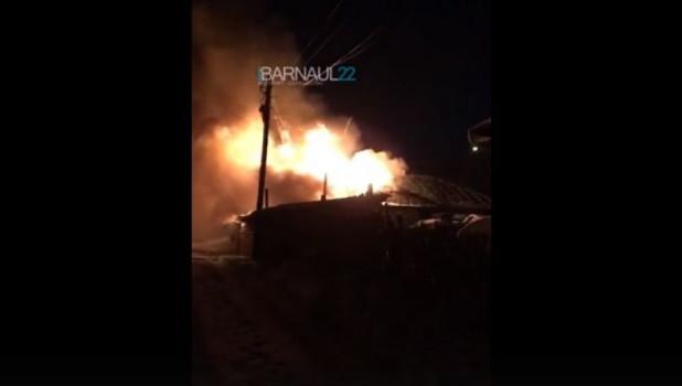 Пожар на ул. Ломоносова