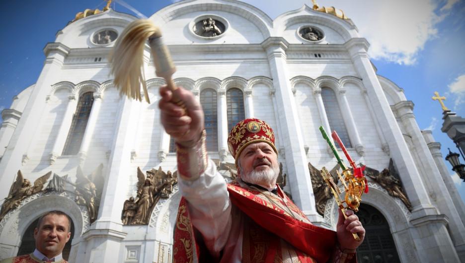 Кафедральный соборный Храм Христа Спасителя.