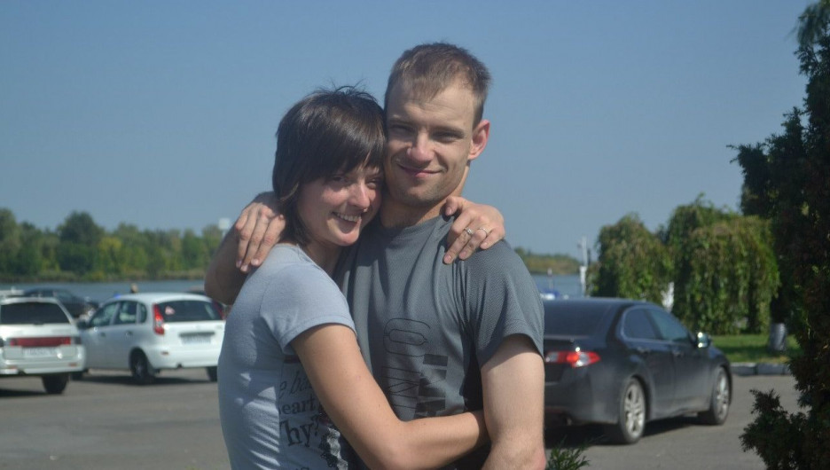 Евгений и Виктория Аведовы.