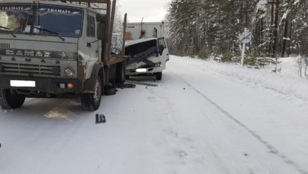 ДТП на трассе «Бийск-Турочак-Артыбаш».