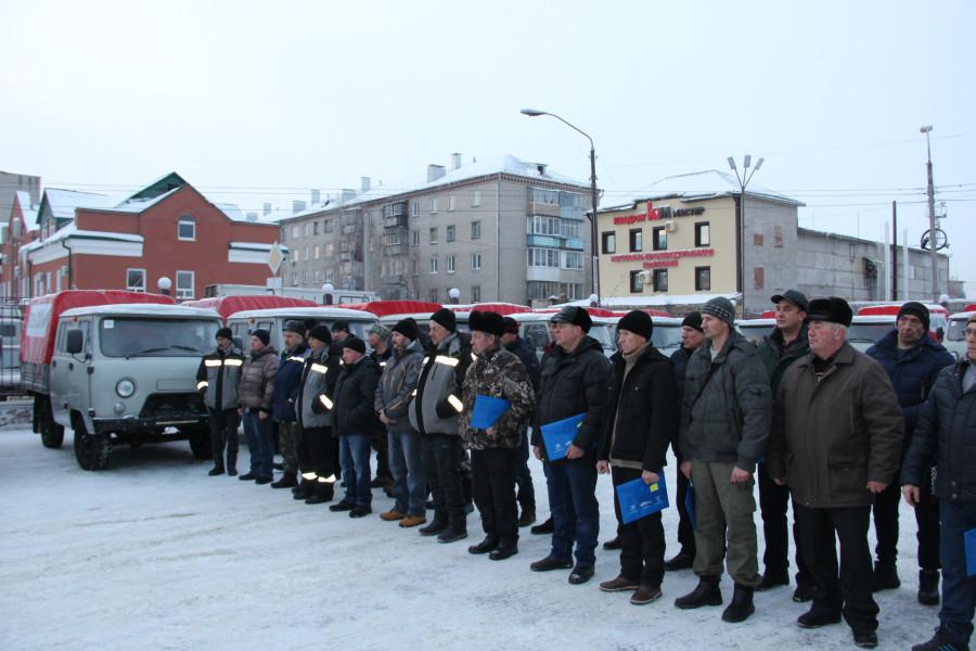 Новая техника для тушения лесных пожаров поступила на Алтай.