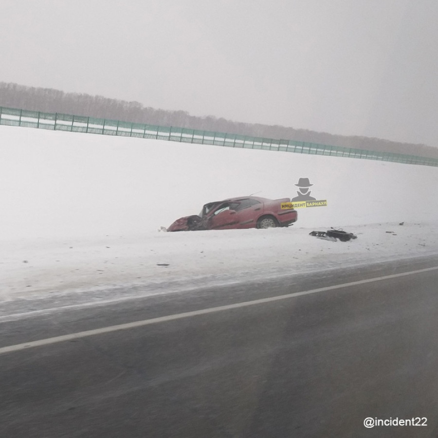 ДТП. Трасса Барнаул - Бийск