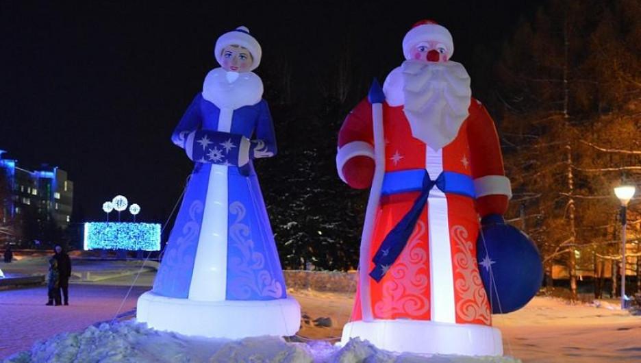 Барнаул. Новый год 2020.