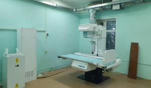Новый рентген аппарат. Барнаульская городская больница №11.