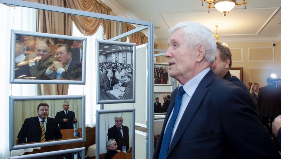Александр Суриков, спикер в 1994-1996 годах, в дальнейшем губернатор края и посол РФ в Беларуси.