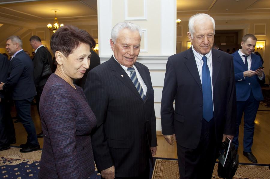 На праздновании 80-летия представительной власти в Алтайском крае.