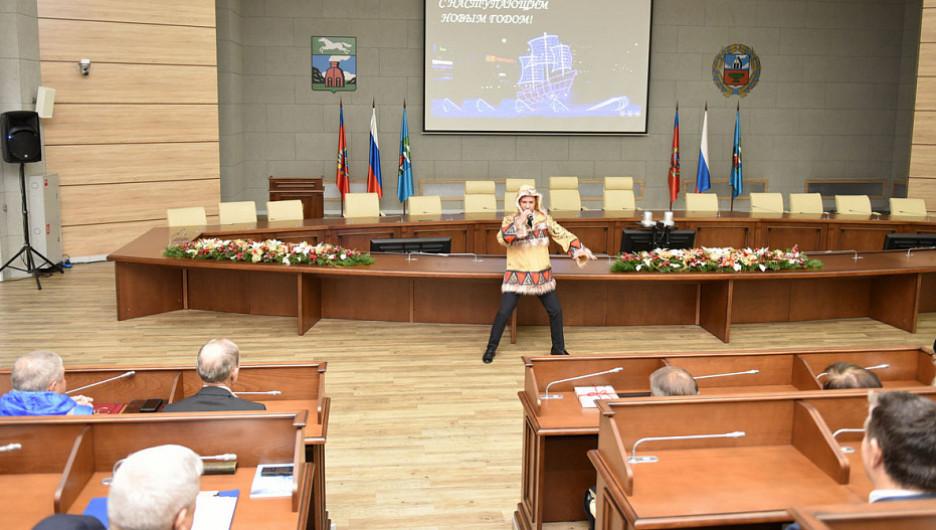 Мэрия Барнаула. Предновогодняя встреча с представителями институтов гражданского общества.