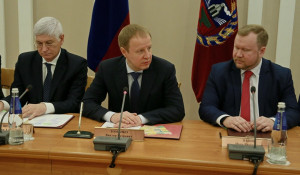 Заседание  краевой трехсторонней комиссии по регулированию социально-трудовых отношений