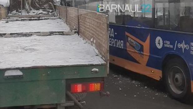 Барнаул. ДТП.