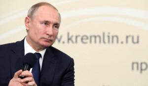 Владимир Путин в Адыгее.