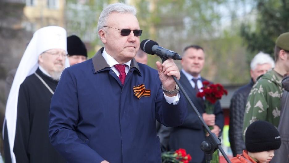 Александр Усс. Губернатор Красноярского края.