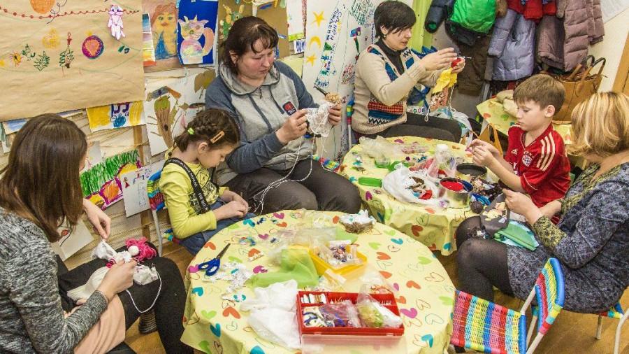 Детско-родительская группа психологического сопровождения «Аистята»