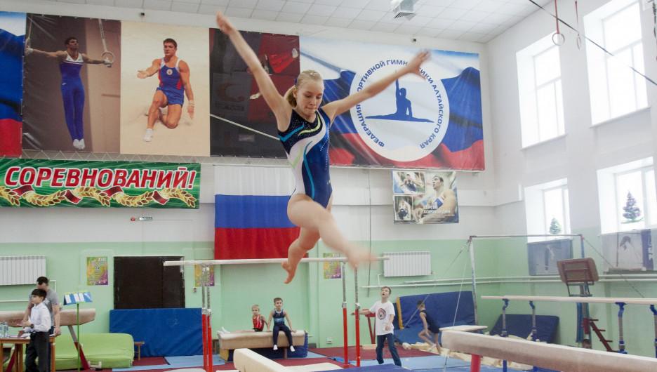 Соревнования по спортивной гимнастике на призы Сергея Хорохордина