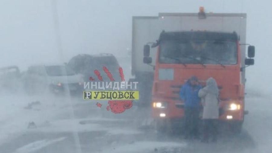 Авария с МАЗом 24 декабря.