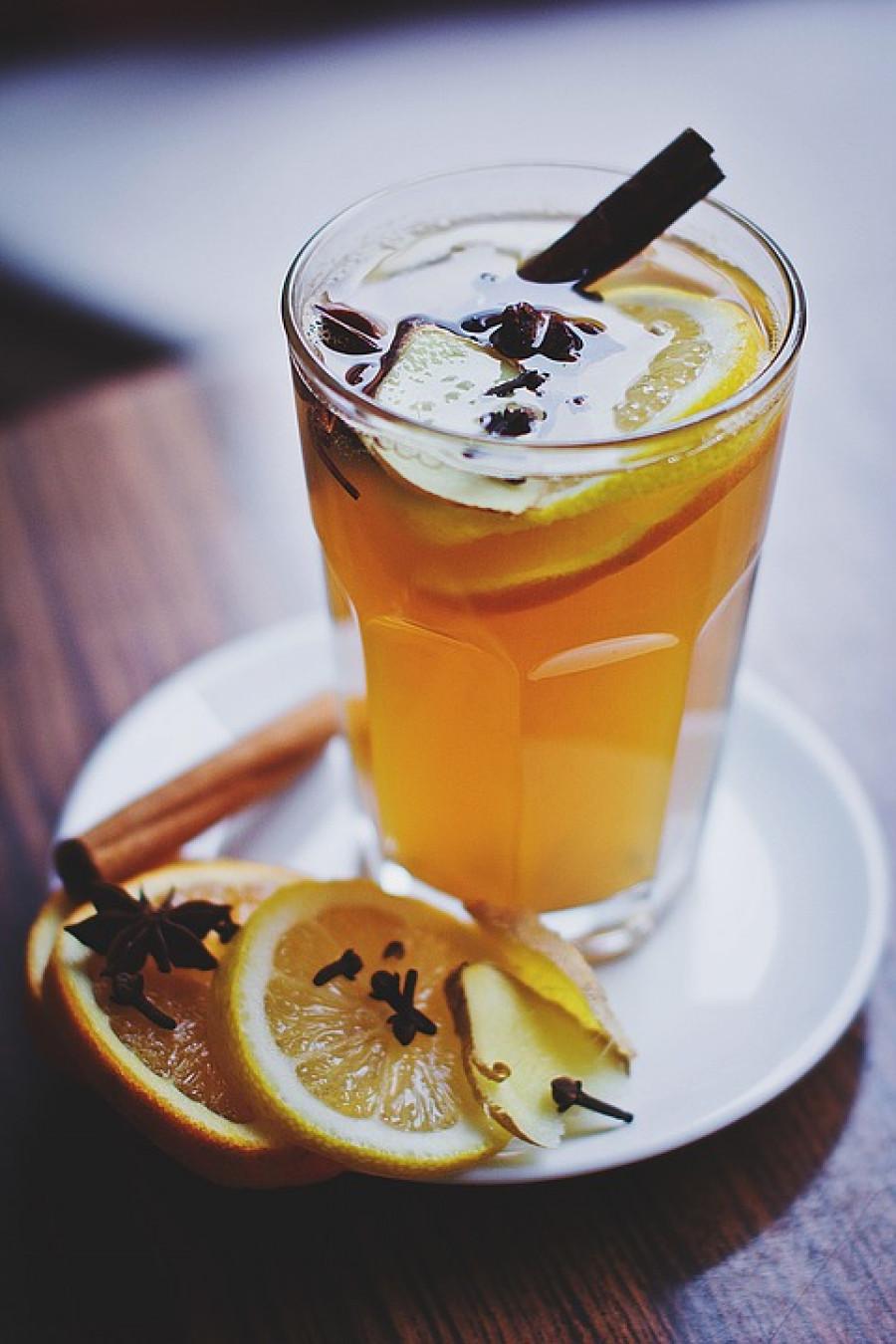 Напиток. Зима.