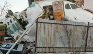 Падение самолета. Казахстан.