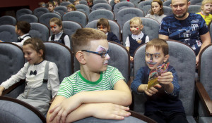 """Открытие обновленного кинотеатра """"Премьера""""."""