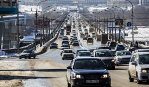 Октябрьский мост в Новосибирске.