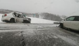 ДТП на трассе Барнаул-Бийск 2 января 2020 года