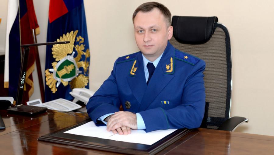 Прокурор Алтайского края Александр Руднев.
