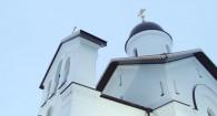 Открытие храма в селе Малахово.
