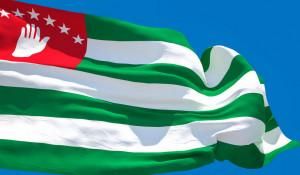 Флаг Абхазии.