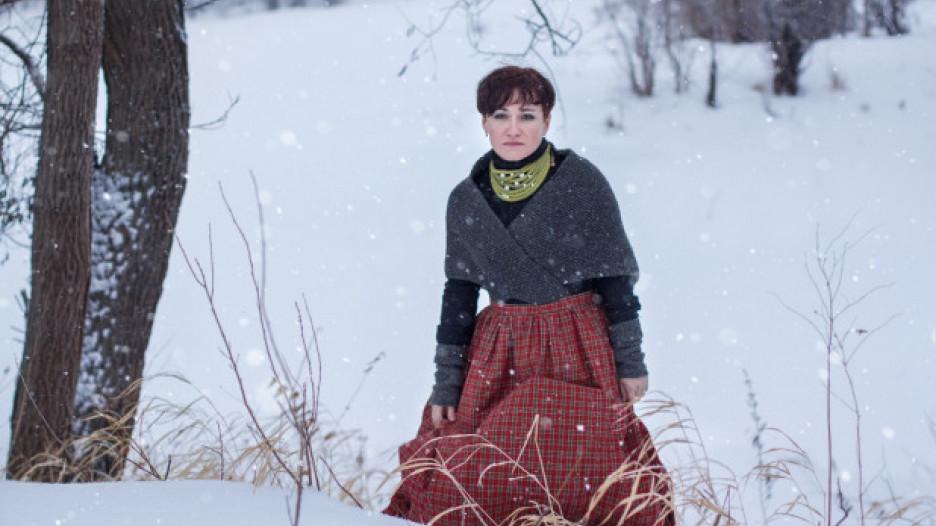 Алтайская писательница Елена Ожич