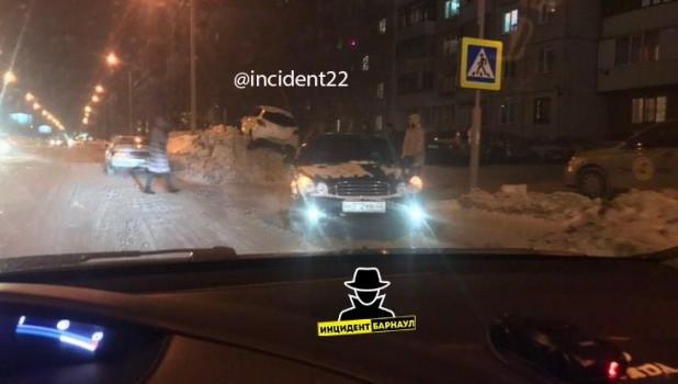 ДТП в Барнауле 13 января.