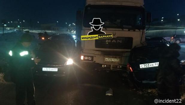 ДТП в Барнауле 14 января.