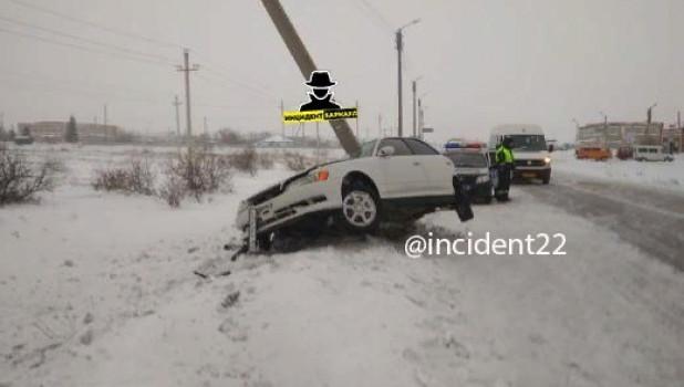 Авария у Благовещенки 15 января.