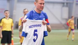 Футболист Сергей Нестеренко