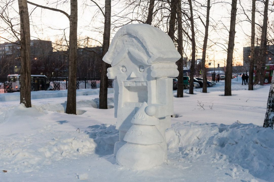 Конкурс снежные фигуры