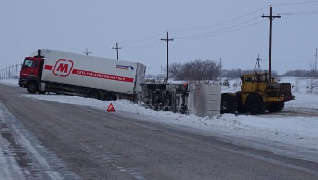 Авария с грузовиком 15 января.