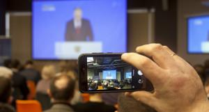 Как в Барнауле слушали послание президента Владимира Путина. 15 января 2020 года
