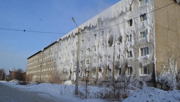 Общежитие на территории ИВВАИУ. Иркутск.