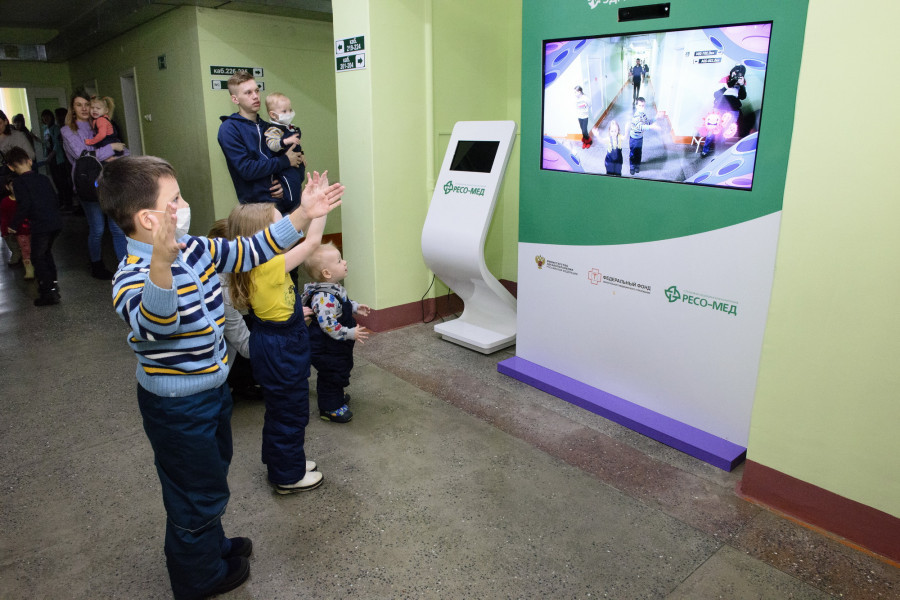 «Здравографика» в 14-й детской поликлинике Барнаула.