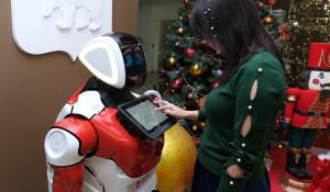 Робот, который работает в администрации губернатора Пермского края.